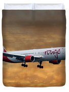 Air Canada Rouge Boeing 767-333 2 Duvet Cover
