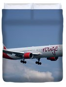 Air Canada Rouge Boeing 767-333 4 Duvet Cover
