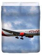 Air Canada Rouge Boeing 767-35h 118 Duvet Cover