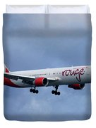 Air Canada Rouge Boeing 767 Duvet Cover