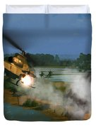 Air Conflicts Vietnam Front Duvet Cover