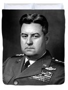 Air Force General Curtis Lemay  Duvet Cover by War Is Hell Store