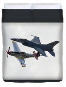 Air Force Heritage Flight Duvet Cover