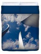 Air Force Memorial Duvet Cover
