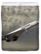 Air France Concorde 116 Duvet Cover