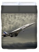 Air France Concorde 116 Duvet Cover