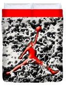 Air Jordan 5f Duvet Cover