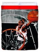 Air Jordan Above The Rim Duvet Cover