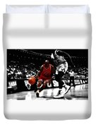 Air Jordan On Shaq Duvet Cover