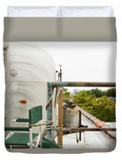 Air Stream Four Duvet Cover