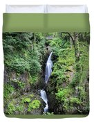 Aira Force Waterfall, Aira Beck, Ullswater, Lake District Duvet Cover