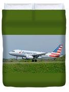 Airbus A319 Duvet Cover