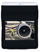 Airbus Engine Duvet Cover by Stelios Kleanthous