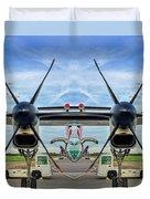 Aircraft Abstract Duvet Cover