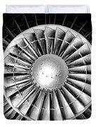 Aircraft Turbofan Engine Duvet Cover