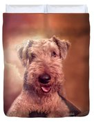 Airedale Duvet Cover