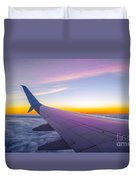 Airplane Window Duvet Cover