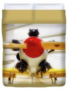 Airplane Wooden Propeller And Engine Pt 22 Recruit 02 Duvet Cover