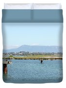 airport on Corfu island Greece Duvet Cover