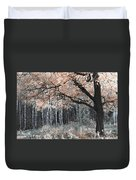 Airy Autumn In Woods Duvet Cover