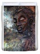 Ajanta Buddha 2 Duvet Cover
