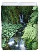 Akaka Falls Stream Duvet Cover