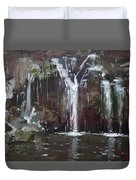 Akron Falls Duvet Cover