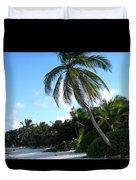 Akumal Sur Beach 1 Duvet Cover