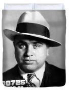 Al Capone Mugshot Painterly Duvet Cover