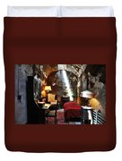 Al Capone's Cell - Eastern State Penitentiary Duvet Cover by Bill Cannon