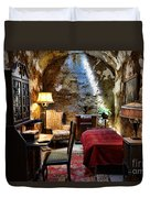Al Capone's Cell - Scarface - Eastern State Penitentiary Duvet Cover