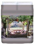 Al Fresco Dining Duvet Cover