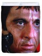 Al Pacino @ Scarface #1 Duvet Cover