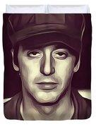 Al Pacino, Actor Duvet Cover