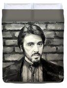 Al Pacino Duvet Cover