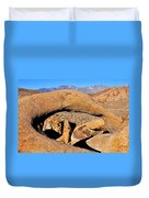 Alabama Hills Arches Duvet Cover