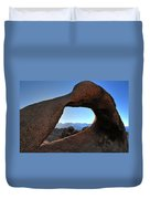 Alabama Hills Window Duvet Cover