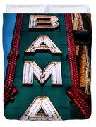 Alabama Theater Sign 1 Duvet Cover