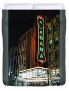 Alabama Theater Duvet Cover