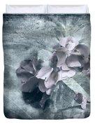 Alabaster Petals Duvet Cover