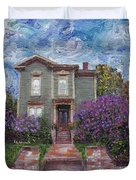 Alameda 1888 - Italianate Duvet Cover