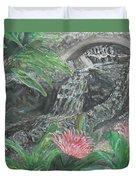 Alameda Gardens, Gibraltar Duvet Cover