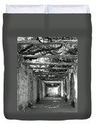Alamo Corridor Duvet Cover