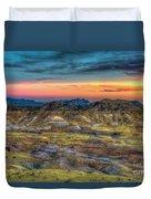 Alamo Creek Sunset Duvet Cover