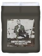 Alan Youth Hostelling Chris Eubank Duvet Cover