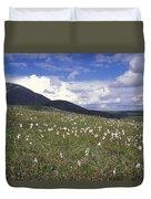 Alaska Cotton Eriophorum Scheuchzeri Duvet Cover