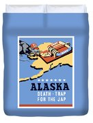 Alaska Death Trap Duvet Cover