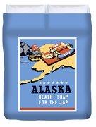 Alaska Death Trap Duvet Cover