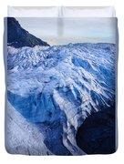 Alaska Exit Glacier Duvet Cover