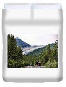 Alaska Glacier B Duvet Cover